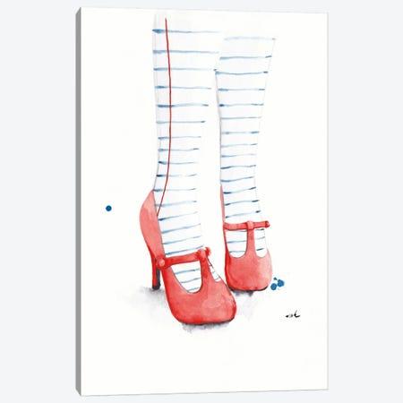 Write About It Canvas Print #HMR117} by Anna Hammer Canvas Artwork