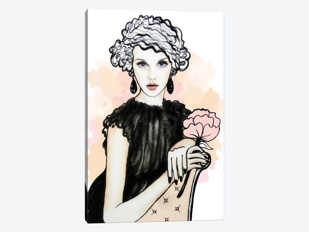 You Make Me Blush, Gatsby by Anna Hammer 1-piece Canvas Print