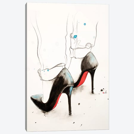 Loubs Canvas Print #HMR121} by Anna Hammer Canvas Wall Art