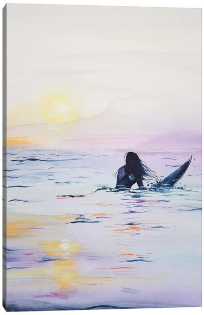 Surf Canvas Art Print