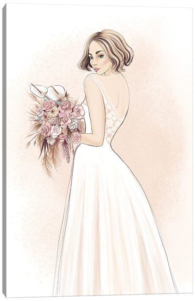 Bride Canvas Art Print
