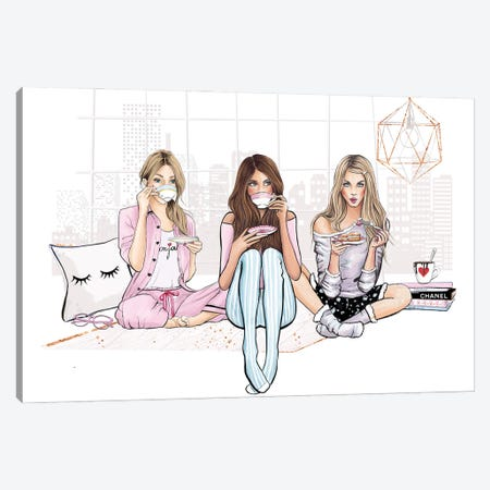 Good Vibes Only 3-Piece Canvas #HMR136} by Anna Hammer Canvas Artwork
