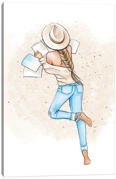 Summer Reads Canvas Art Print