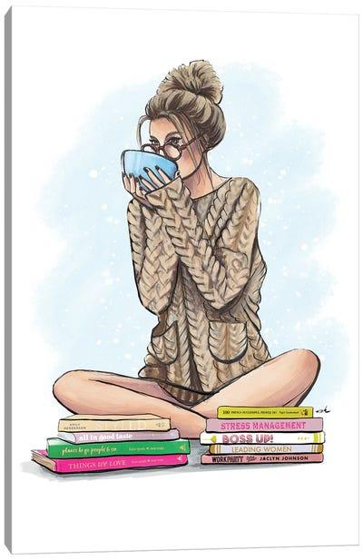 Need More Coffee Canvas Art Print