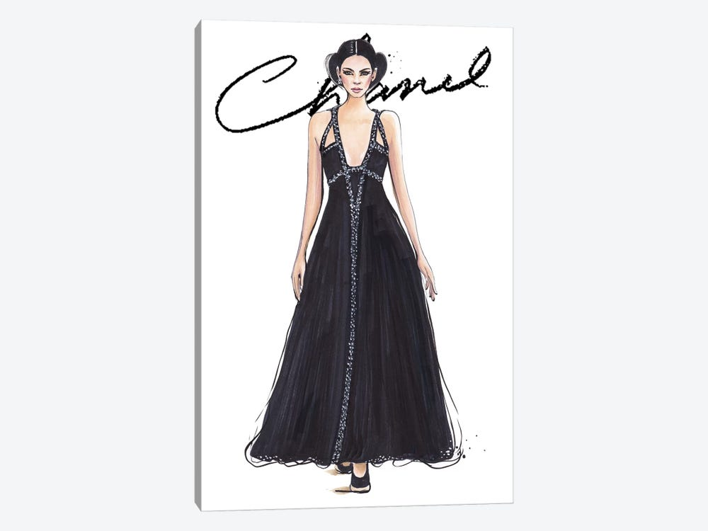 Chanel I With Logo by Anna Hammer 1-piece Art Print