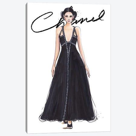 Chanel I With Logo Canvas Print #HMR17} by Anna Hammer Canvas Print