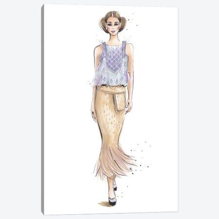 Chanel III Canvas Print #HMR19} by Anna Hammer Canvas Artwork