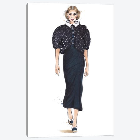Chanel IV Canvas Print #HMR20} by Anna Hammer Canvas Art Print
