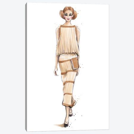 Chanel V Canvas Print #HMR21} by Anna Hammer Canvas Print