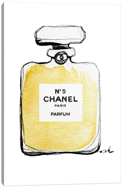 Chanel No 5 Canvas Art Print
