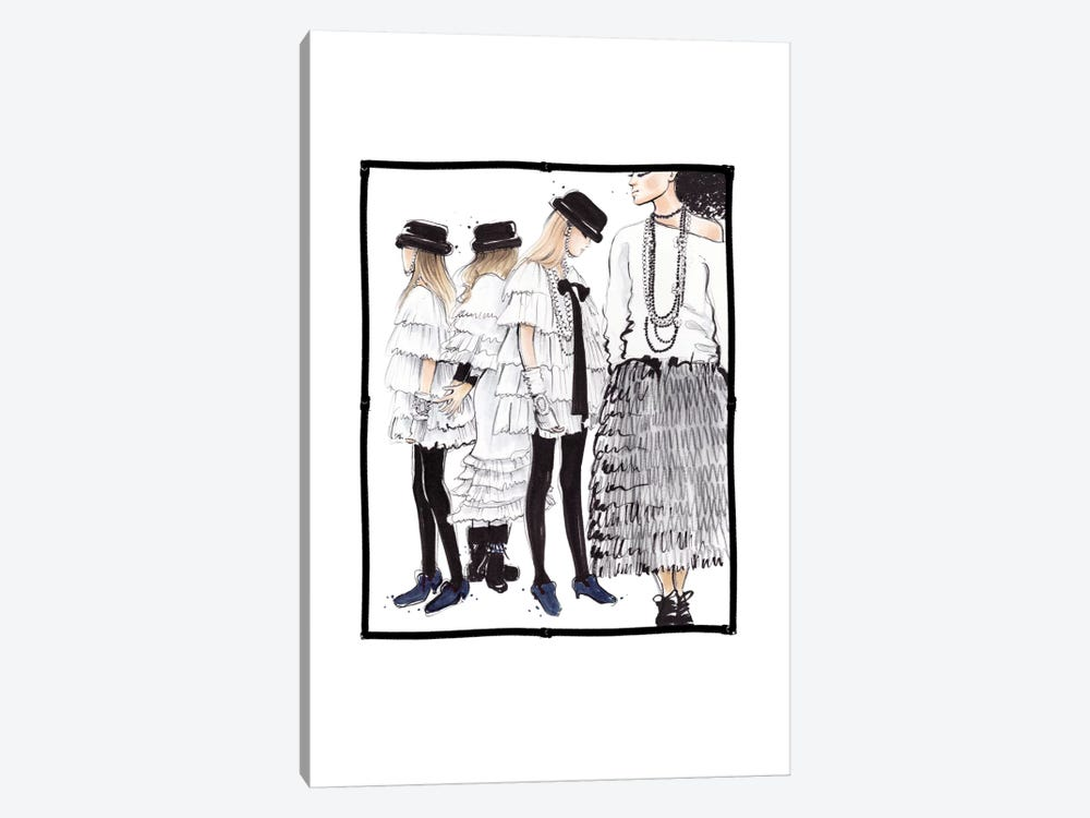 Chanel RTW by Anna Hammer 1-piece Canvas Art Print