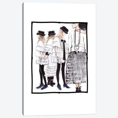 Chanel RTW Canvas Print #HMR24} by Anna Hammer Canvas Art