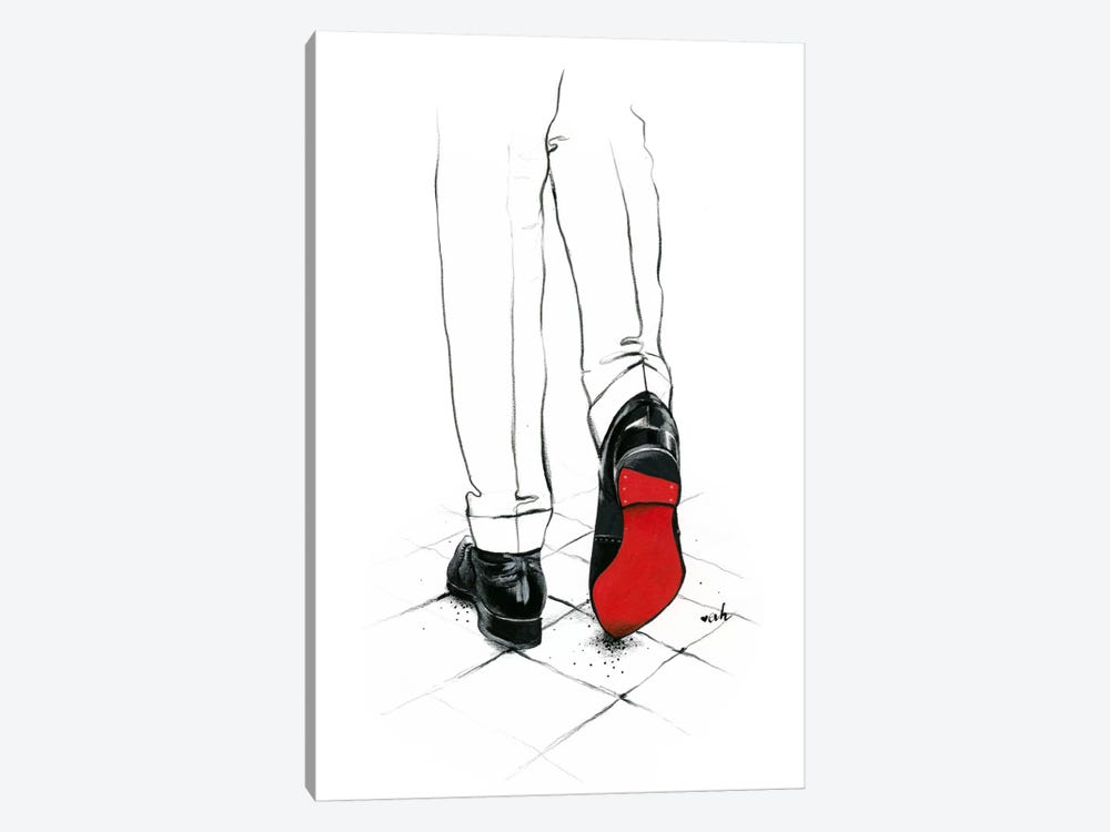 Code Red by Anna Hammer 1-piece Canvas Print