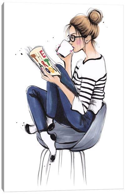 Coffee Break Canvas Art Print
