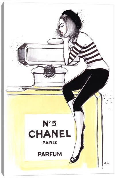 Dreaming Of Chanel Canvas Art Print