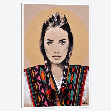 Dziewczyna Janosika Canvas Print #HMR36} by Anna Hammer Art Print