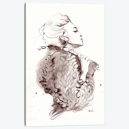 Fashion Canvas Print #HMR41} by Anna Hammer Canvas Art Print