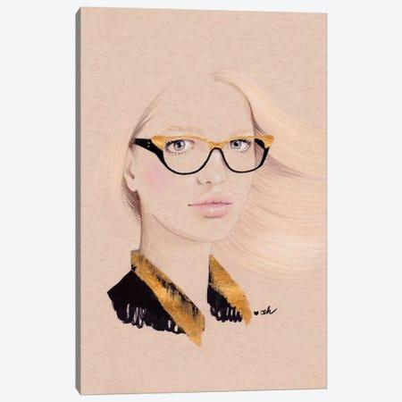 Framed Canvas Print #HMR42} by Anna Hammer Canvas Print