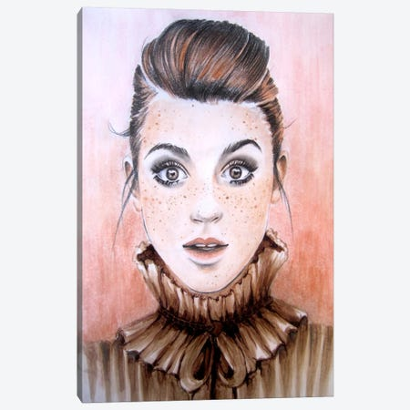 Freckles Canvas Print #HMR43} by Anna Hammer Canvas Art Print