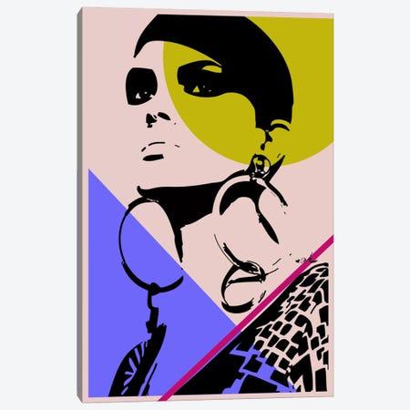 Go West Color Canvas Print #HMR48} by Anna Hammer Art Print