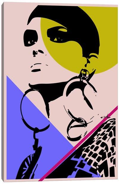 Go West Color Canvas Art Print