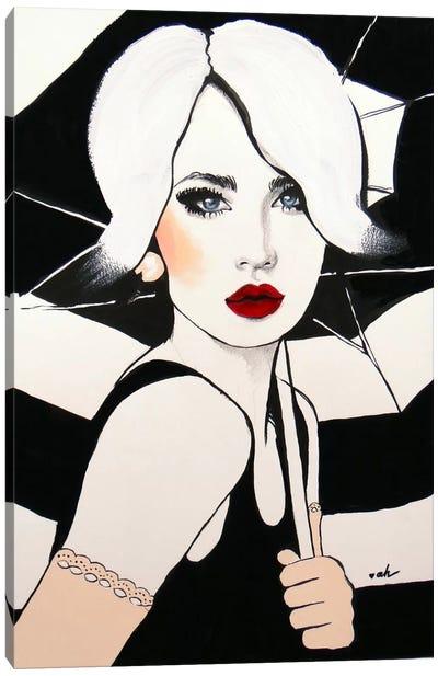 Greetings From Paris Canvas Art Print