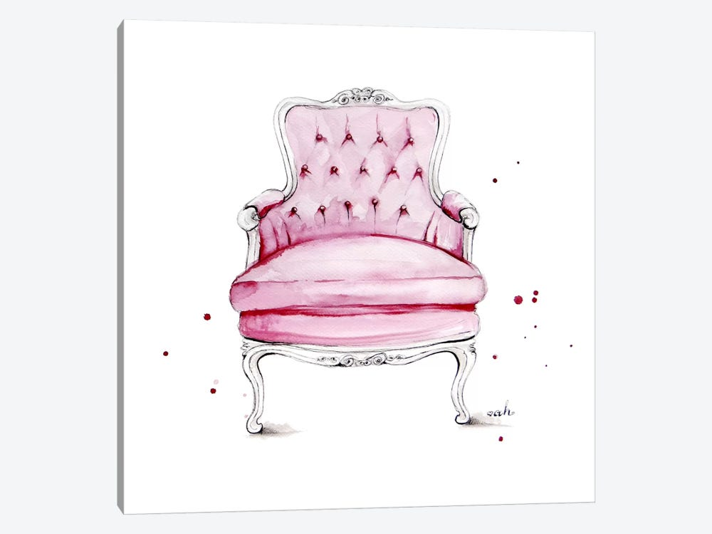 Have A Seat by Anna Hammer 1-piece Canvas Wall Art