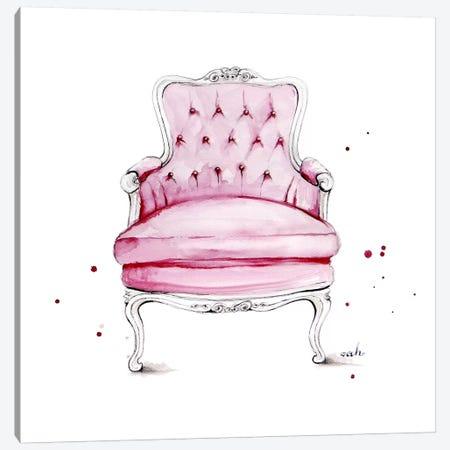 Have A Seat Canvas Print #HMR56} by Anna Hammer Canvas Art Print