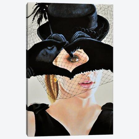Heartbreaker Canvas Print #HMR58} by Anna Hammer Canvas Art