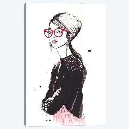 I'm Not A Freshman Canvas Print #HMR63} by Anna Hammer Art Print