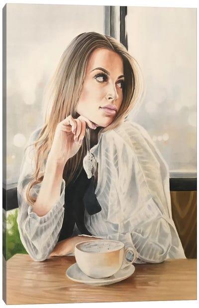 Latte Canvas Art Print