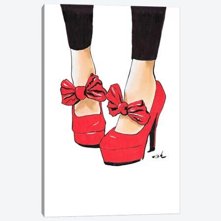 Let's Dance Canvas Print #HMR71} by Anna Hammer Canvas Artwork