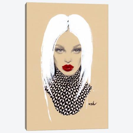 Mac Russian Red Canvas Print #HMR72} by Anna Hammer Canvas Art