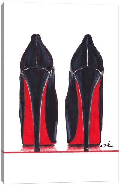Mighty Heels Canvas Art Print