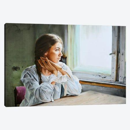 Missing You Canvas Print #HMR79} by Anna Hammer Canvas Art