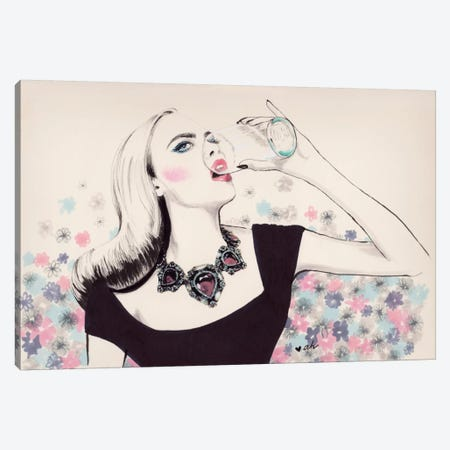 More Milk, Please Canvas Print #HMR80} by Anna Hammer Canvas Art Print