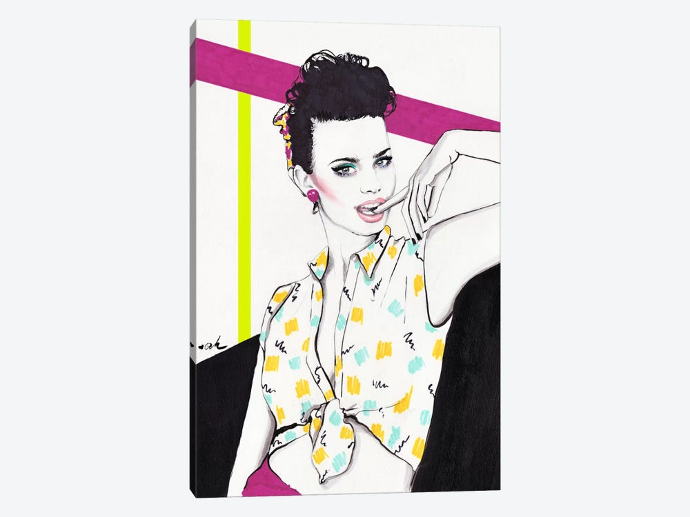 Nagel Girl by Anna Hammer 1-piece Canvas Art