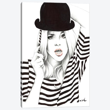 Photo Booth Canvas Print #HMR86} by Anna Hammer Canvas Wall Art
