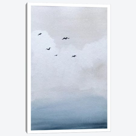 Birds Canvas Print #HMR8} by Anna Hammer Canvas Artwork