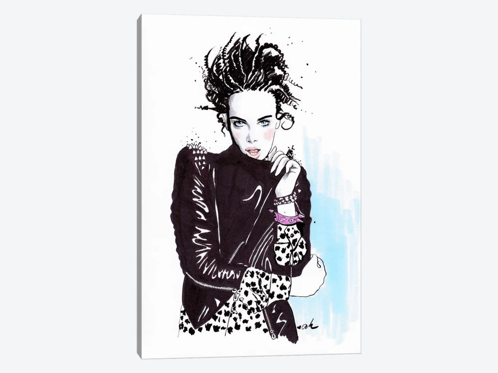 Rock And Leather by Anna Hammer 1-piece Art Print