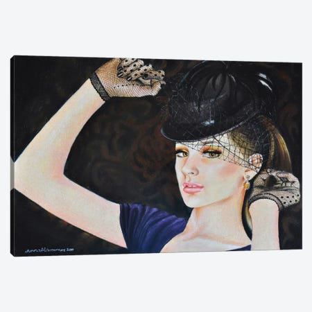 Royal Canvas Print #HMR94} by Anna Hammer Art Print