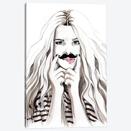 Say What Canvas Print #HMR95} by Anna Hammer Canvas Art Print