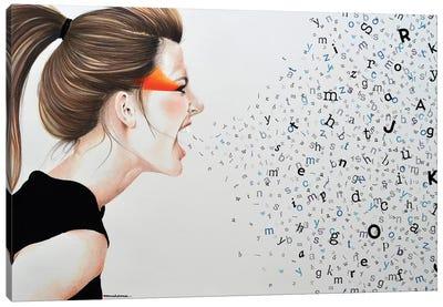 Scream No Evil Big And Good Canvas Art Print