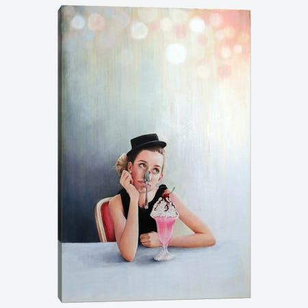 Bittersweet Sixteen Canvas Print #HMR9} by Anna Hammer Canvas Artwork