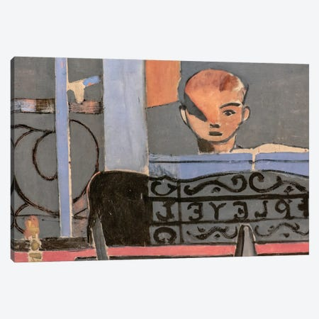 The Piano Lesson Canvas Print #HMT2} by Henri Matisse Canvas Wall Art