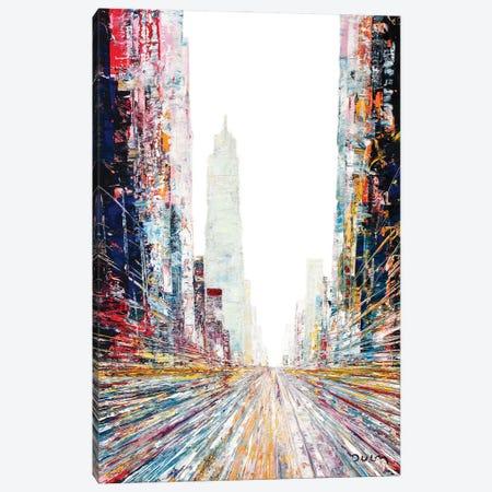No One Is Me Street Canvas Print #HND14} by Henri Dulm Canvas Art Print