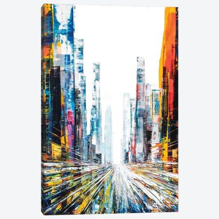 Replay Street Canvas Print #HND15} by Henri Dulm Canvas Art Print
