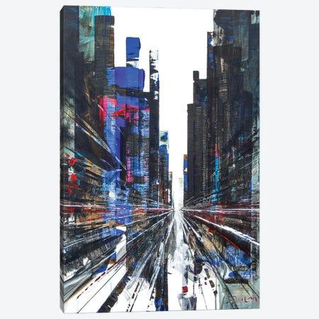 Get Ready Street Canvas Print #HND19} by Henri Dulm Canvas Wall Art