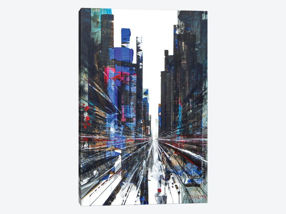 Get Ready Street by Henri Dulm 1-piece Canvas Art