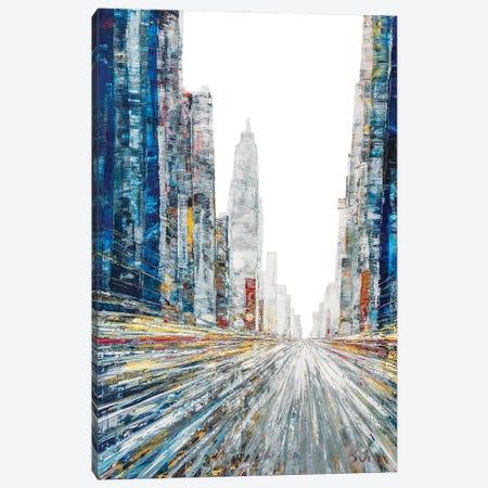 Beauchemin Street Canvas Print #HND1} by Henri Dulm Canvas Art